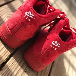 Nike Air Force 1 Mid Red October Men's Size 13
